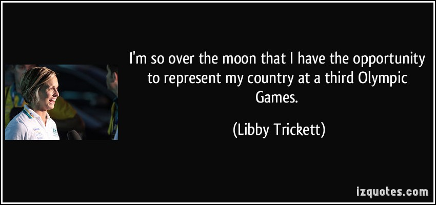 Libby Trickett's quote