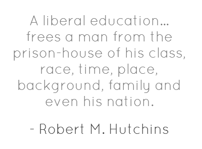 Liberal Education quote #2
