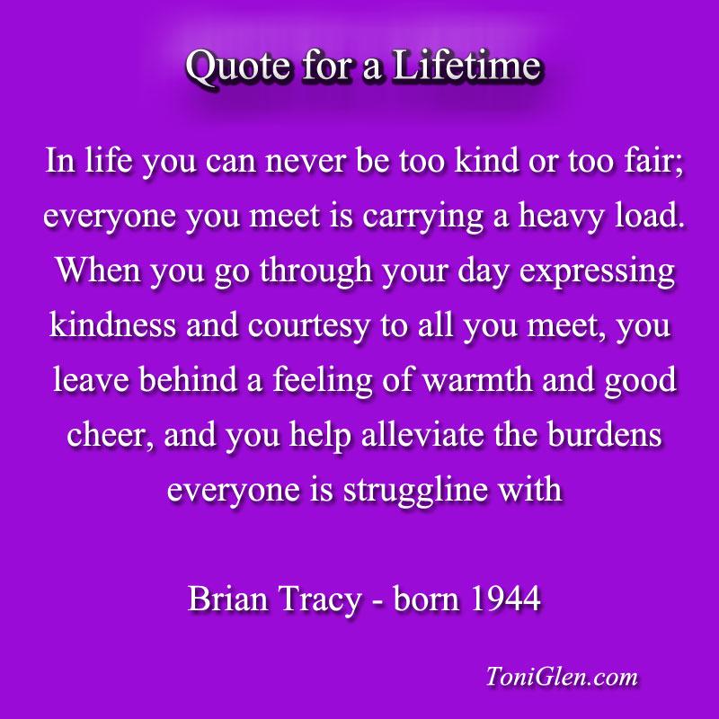 Lifetime quote #2