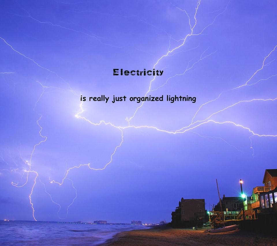 Lightning quote #8