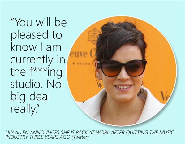 Lily Allen's quote #6