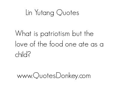 Lin Yutang's quote #1