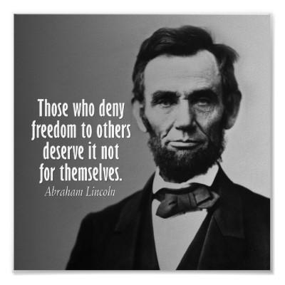 Lincoln quote #2