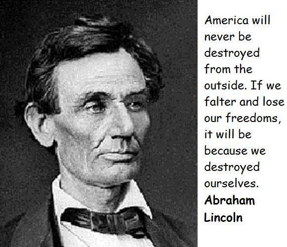 Lincoln quote #3