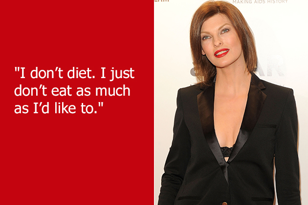 Linda Evangelista's quote #2