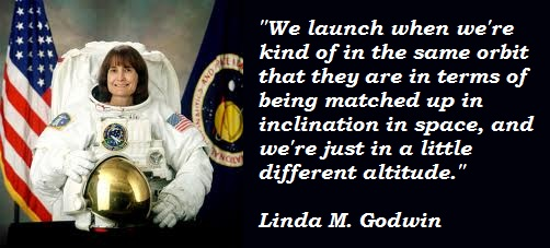 Linda M. Godwin's quote #6