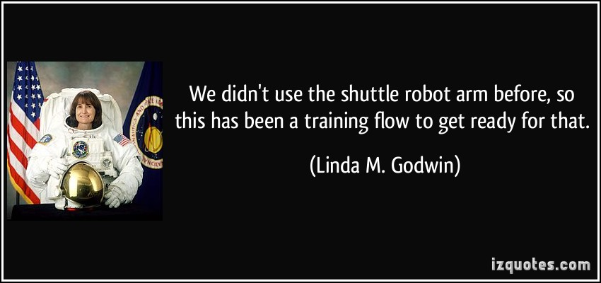 Linda M. Godwin's quote #7