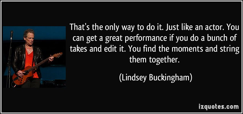Lindsey Buckingham's quote #5