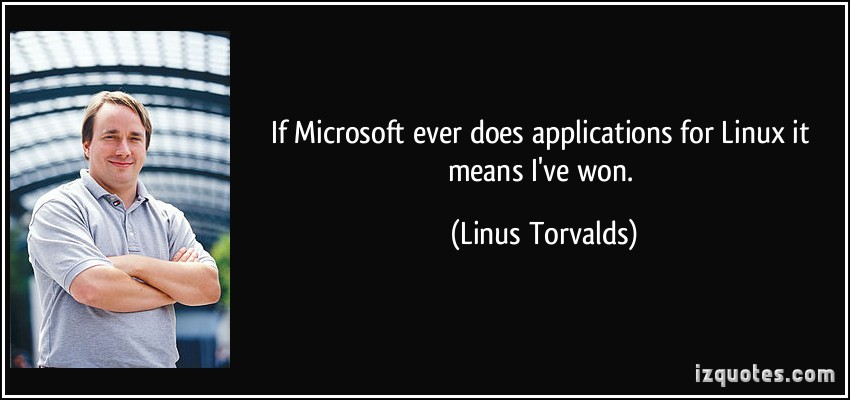Linux quote #1