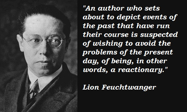 Lion Feuchtwanger's quote #4