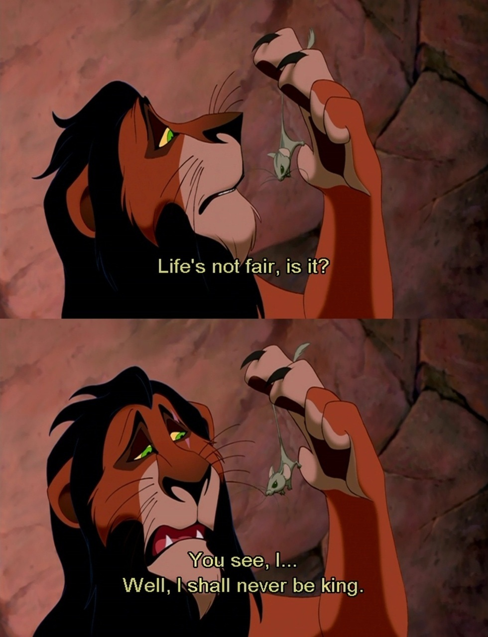 Lion King quote #1