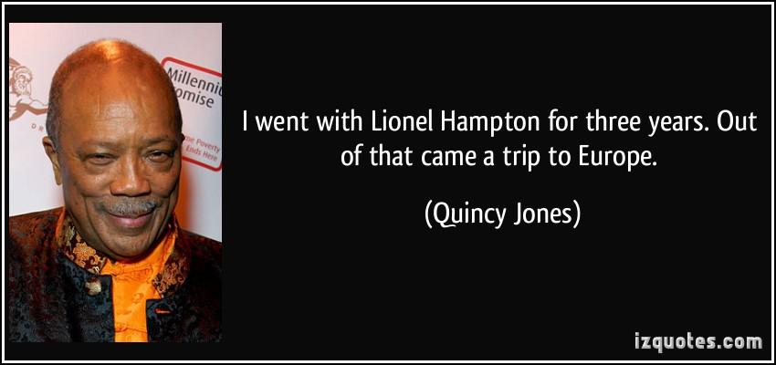 Lionel Hampton's quote #4