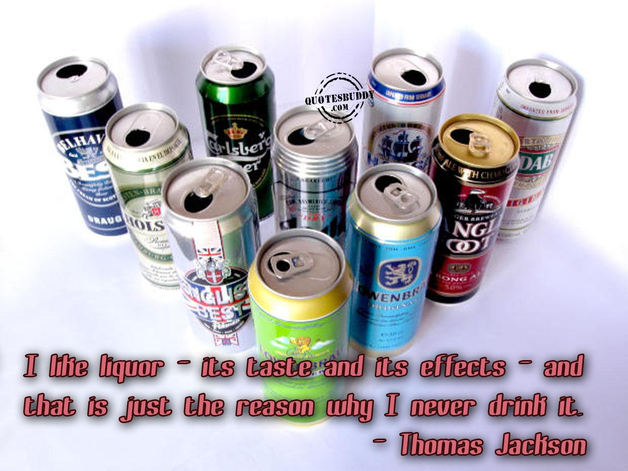 Liquor quote #2