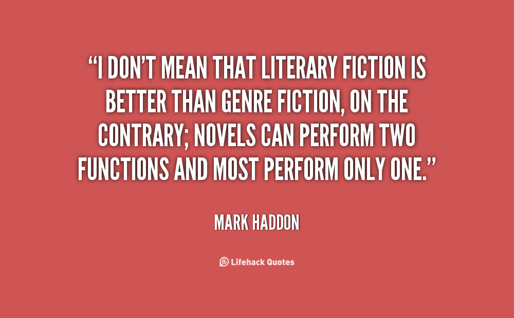 Literary Fiction quote #2