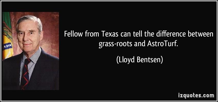 Lloyd Bentsen's quote #1