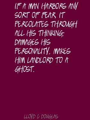 Lloyd C. Douglas's quote #1