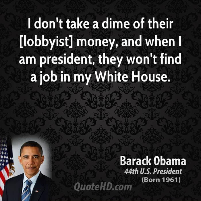 Lobbyist quote #1