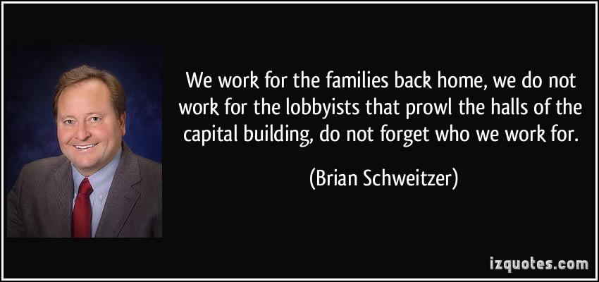 Lobbyists quote #2