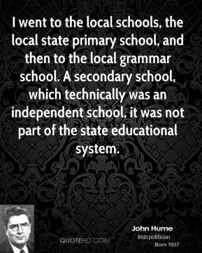 Local School quote #2