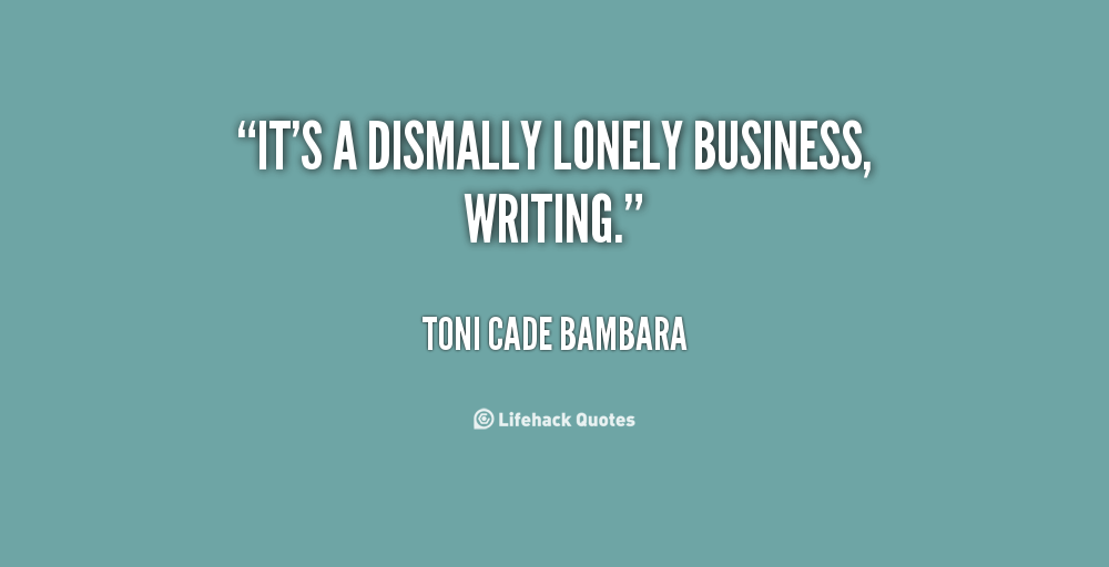 Lonely Business quote #1