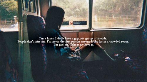 Loner quote #2