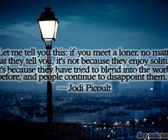 Loner quote #3