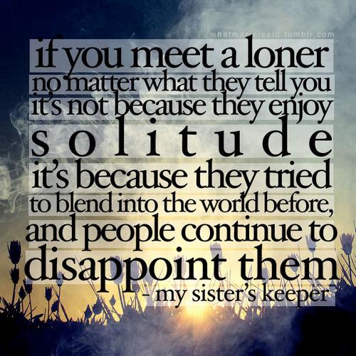 Loner quote #7