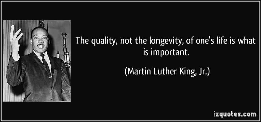 Longevity quote #1