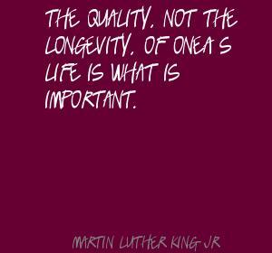 Longevity quote #2