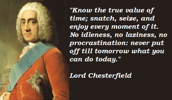 Lord Chesterfield's quote #2