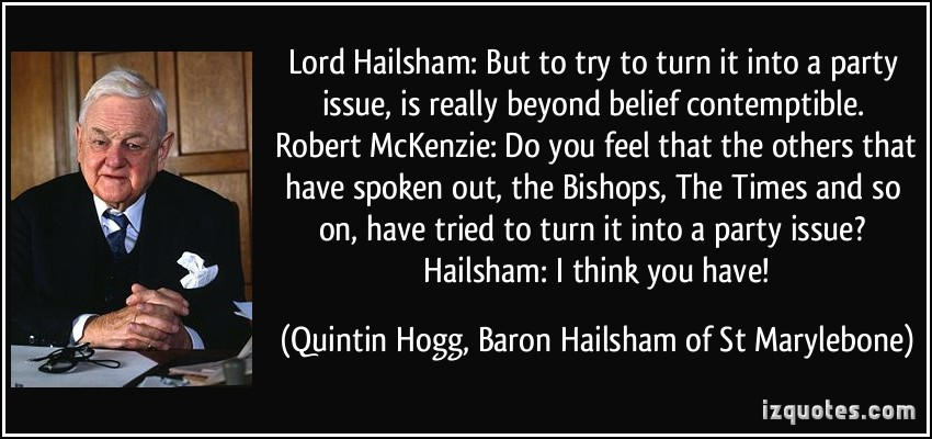 Lord Hailsham's quote #2