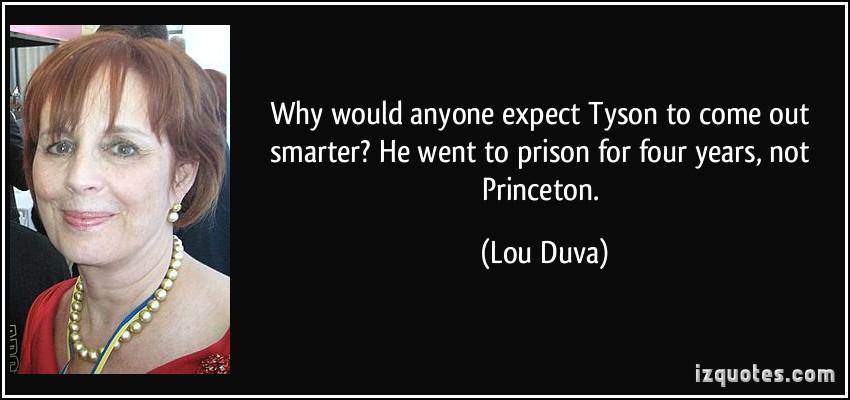 Lou Duva's quote #2