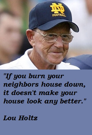 Lou Holtz's quote #3