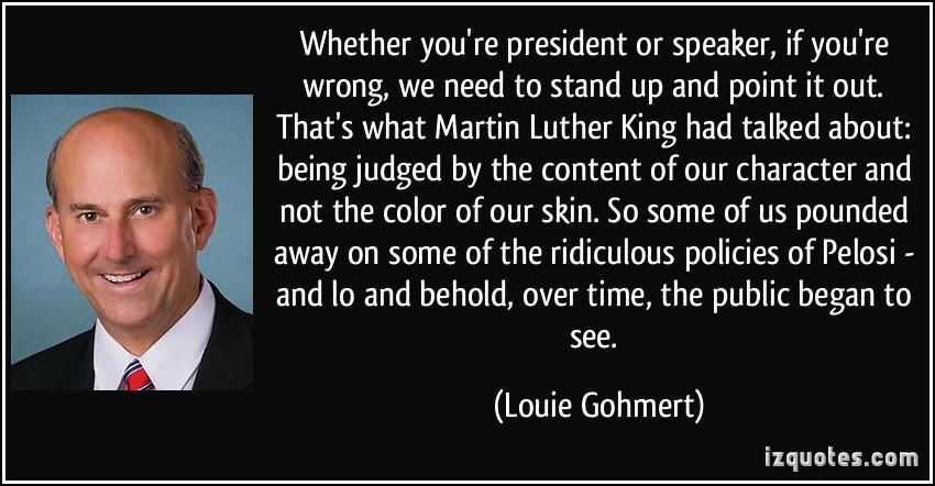 Louie Gohmert's quote #2
