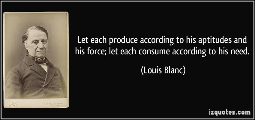 Louis Blanc's quote #1