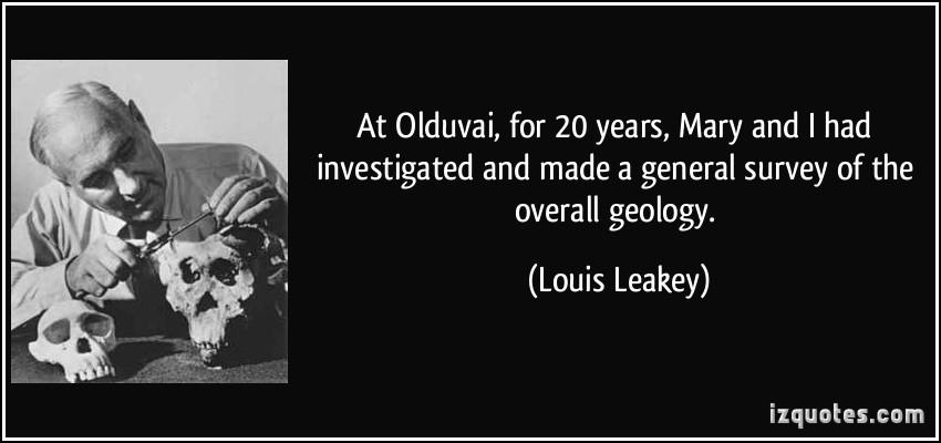 Louis Leakey's quote #3