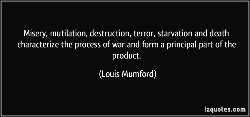 Louis Mumford's quote