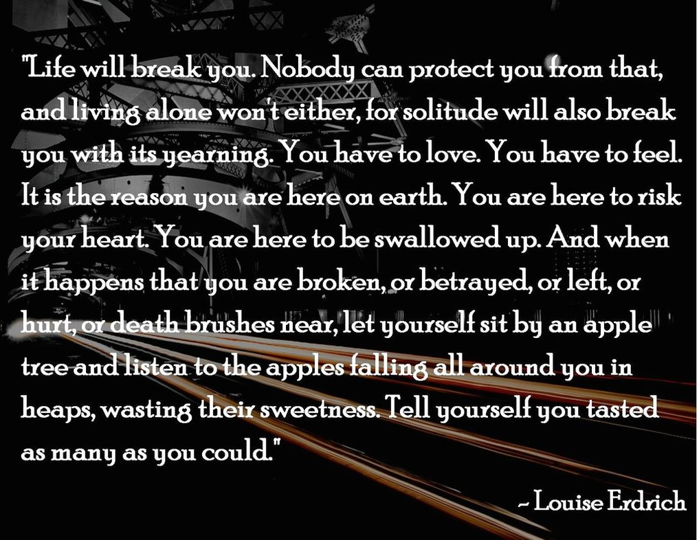Louise Erdrich's quote #1