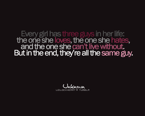 love and hate relationship tumblr quote