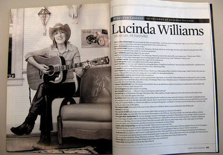 Lucinda Williams's quote #4
