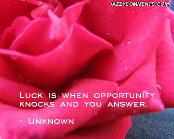 Luck quote #2