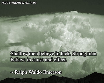 Luck quote #4