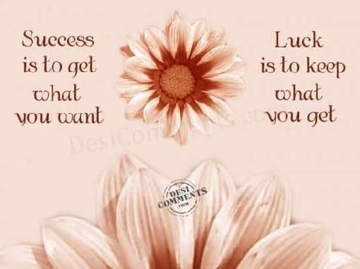 Luck quote #7