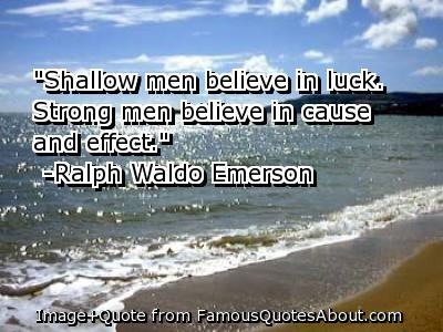 Luck quote #8