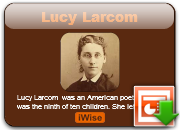 Lucy Larcom's quote #7