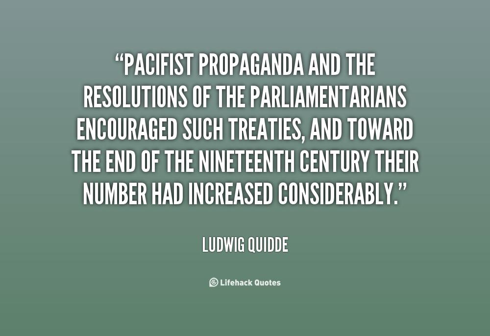 Ludwig Quidde's quote #5
