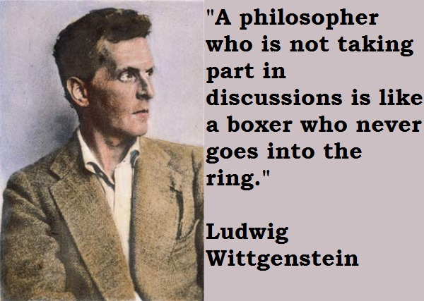 Ludwig Wittgenstein's quote #2