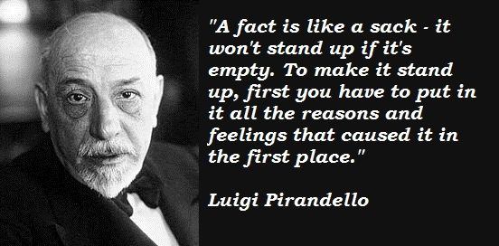 Luigi Pirandello's quote #2