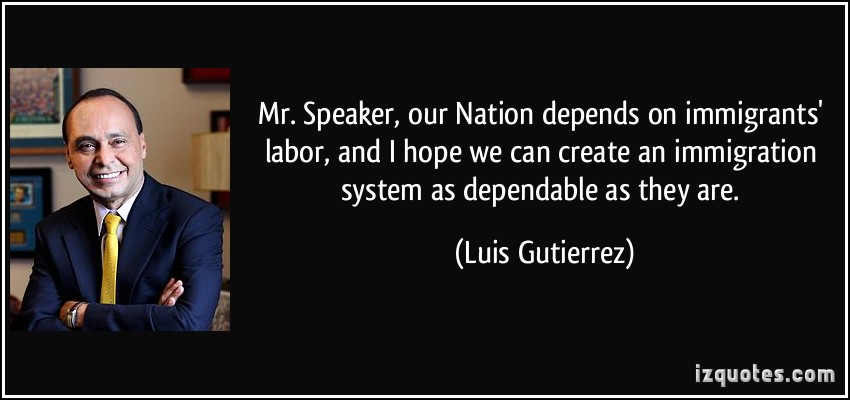 Luis Gutierrez's quote #4