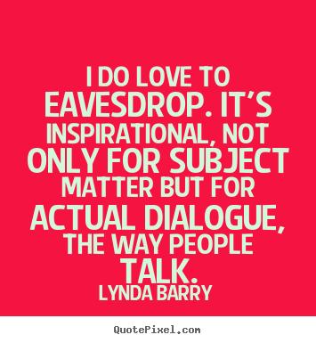 Lynda Barry's quote
